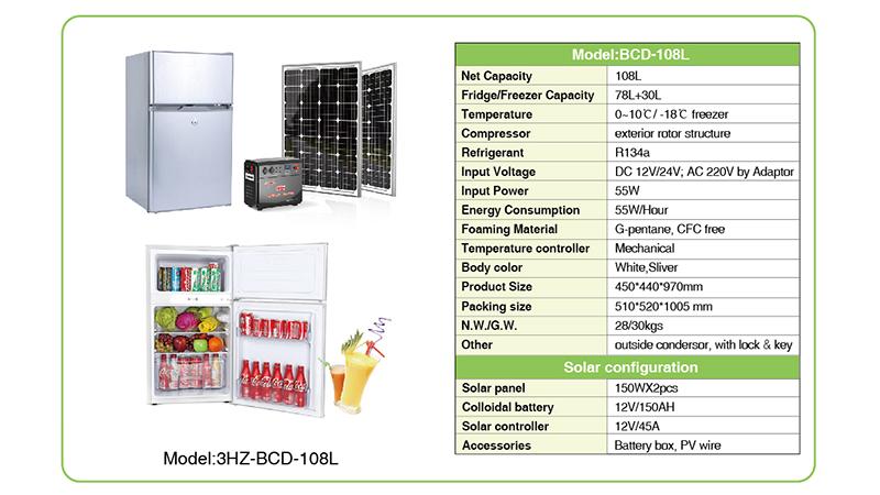 Solar Refrigerator & Freezer Solar pump solar power systems