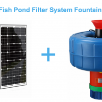 Solar Floating water pump