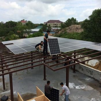 印度尼西亚24KW离网太阳能供电系统