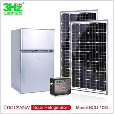 3Hz-BC108L 太阳能冰箱