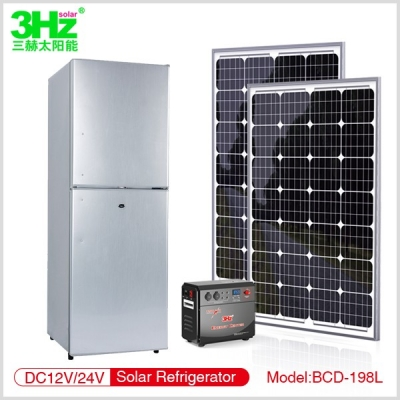 3Hz-BC198L 太阳能冰箱
