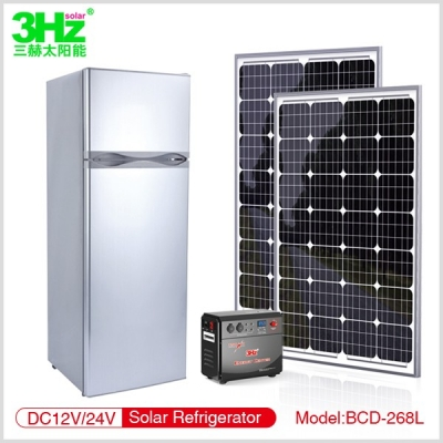 3Hz-BC268L 太阳能冰箱