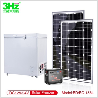 3Hz-BD/BC158L太阳能冰柜
