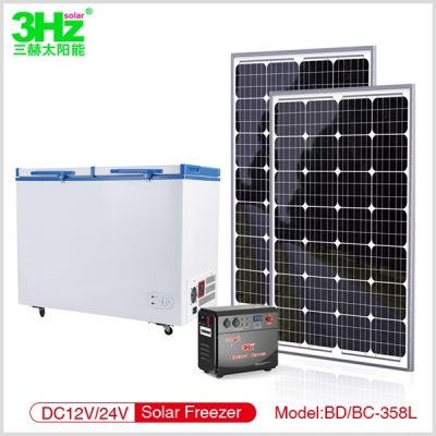 3Hz-BD/BC358L太阳能冰柜