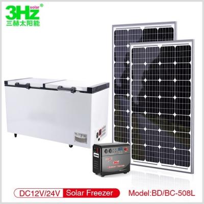 3Hz-BD/BC508L太阳能冰柜
