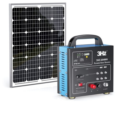 DC204WH便携式太阳能供电系统
