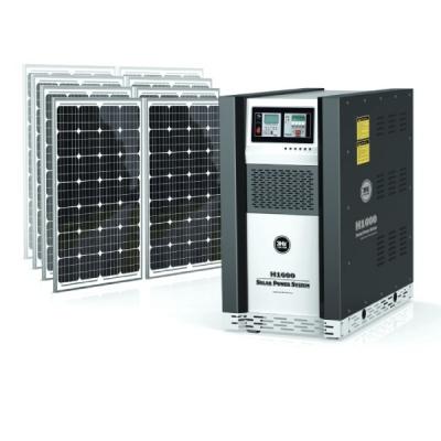 3Hz-H2000家用太阳能供电系统
