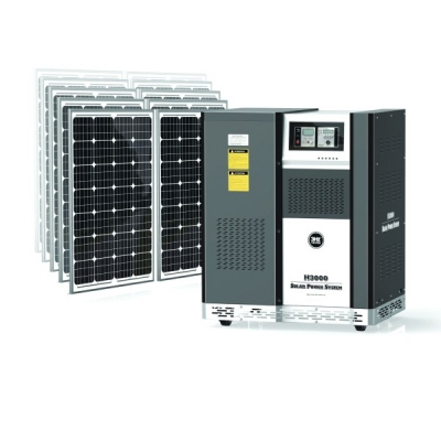3Hz-H3000离网独立太阳能供电系统