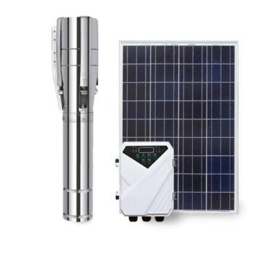 4/6寸不锈钢直流太阳能水泵