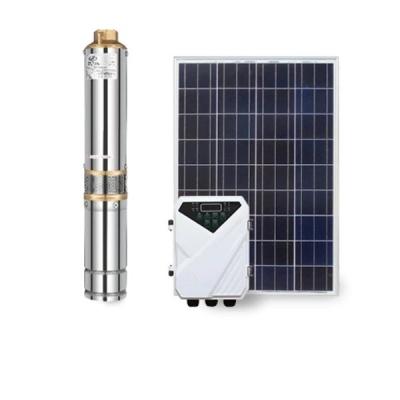 4寸不锈钢太阳能潜水泵