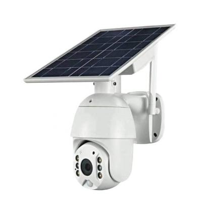 太阳能监控摄像机4G无线wifi球机云台旋转远程监控报警高清录像