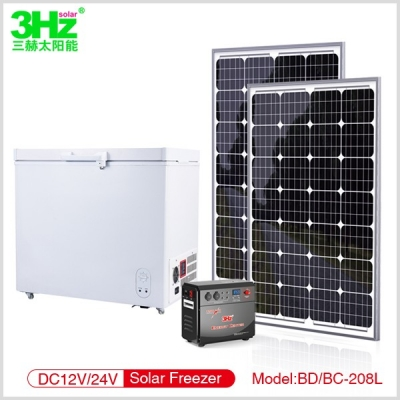 3Hz-BD/BC208L Solar Freezer