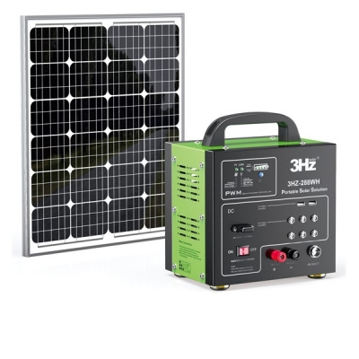 DC288WH DC Solar Power System