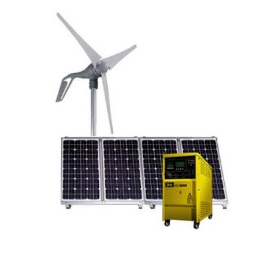 3Hz-1200W Hybrid solar wind power generation system