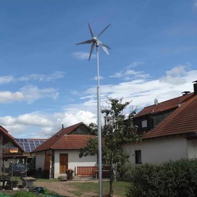3Hz-3000W Wind Solar Hybrid Off Grid System