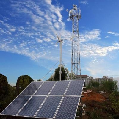 3Hz-4500W Wind Solar Hybrid Off Grid System