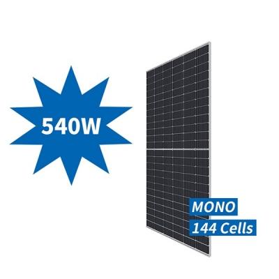 540W Mono Half-cut  Glass Module