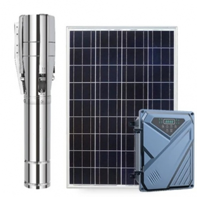 """4/6"""" AC/DC SOLAR PUMP WITH S/S IMPELLER"""