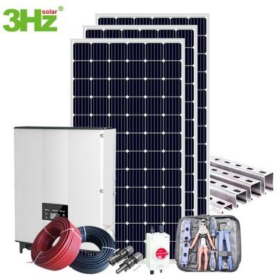 10KW Grid-Tie Solar System Kits